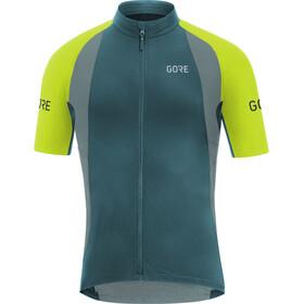 GORE WEAR C7 Pro Maillot de cyclisme Homme, dark nordic blue/citrus green